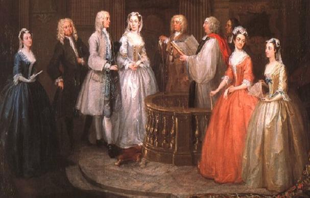 Casatorie in trecut