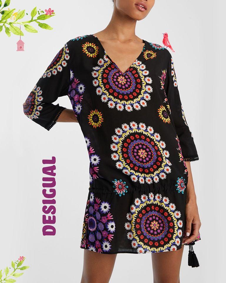 rochie desigual differenta